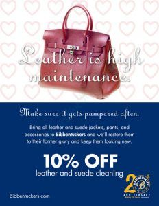 bibbentuckers the dry cleaner leather suede cleaning special february 2017 451x584 232x300 - Bibbentuckers The Dry Cleaner: Monthly Special - February 2017