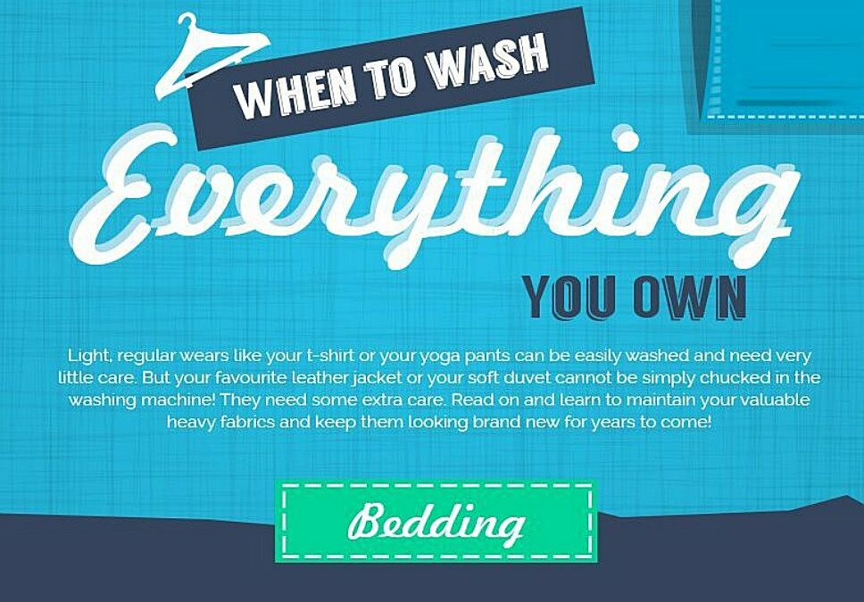 Wash everything you own