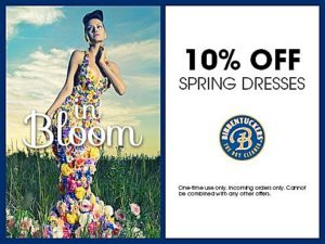 Spring Dresses Coupon