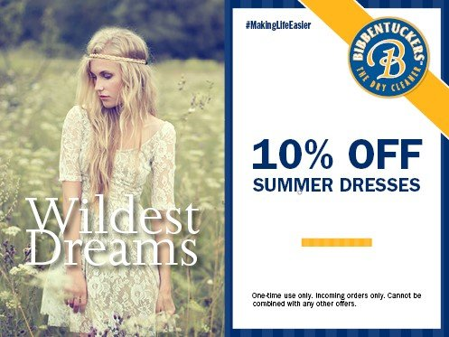 bibb summer 5 - Dry Cleaning Specials